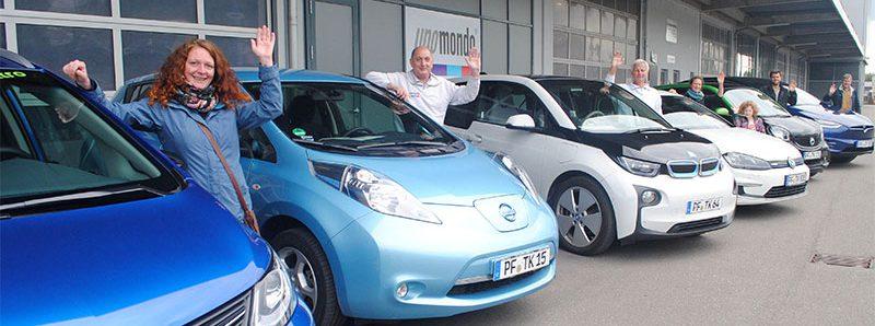 Unomondo Elektrofahrzeuge bei den Energiewendetagen Baden-Württemberg