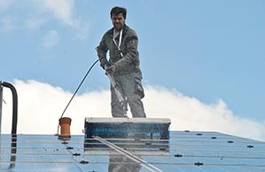 Reinigung Photovoltaikanlage