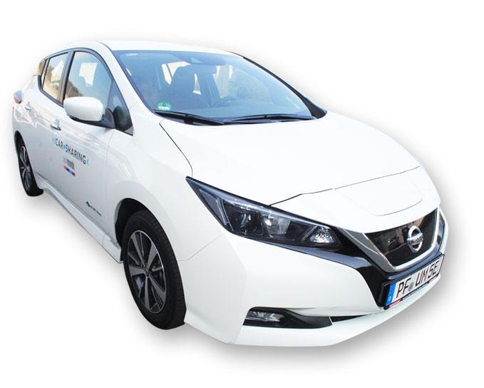 Nissan Leaf Unomondo eCarsharing